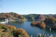 なばり四季のブログ-青蓮寺湖