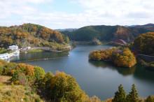 なばり四季のブログ-2012.11.21青蓮寺湖