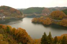 なばり四季のブログ-2012.11.29青蓮寺湖