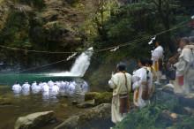 なばり四季のブログ-滝みそぎ