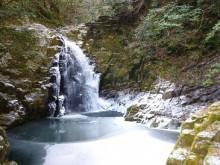 なばり四季のブログ-不動滝