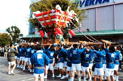 名張秋祭り協賛集結行事 写真